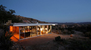 a self sufficient house in the californian desert
